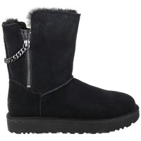 Shoes Women Snow boots UGG Classsic Short Sparkle Black