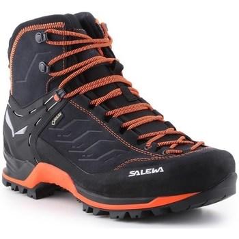 Shoes Men Walking shoes Salewa MS Mtn Trainer Mid Gtx Black