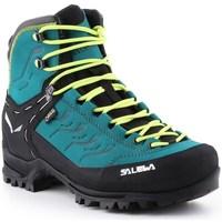 Shoes Women Hi top trainers Salewa WS Rapace Gtx Black,Turquoise