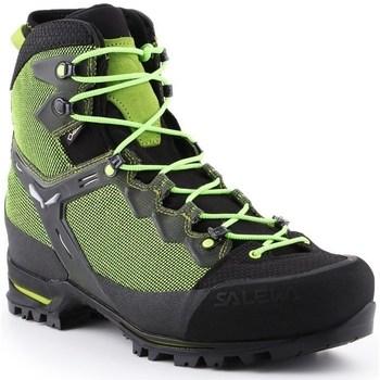 Shoes Men Low top trainers Salewa MS Raven 3 Gtx Black,Green