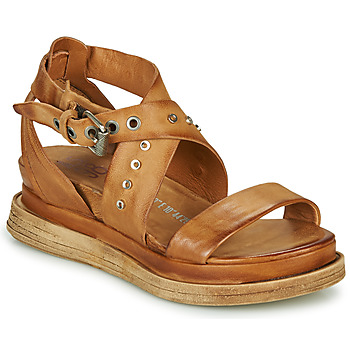 Shoes Women Sandals Airstep / A.S.98 LAGOS 2 Camel