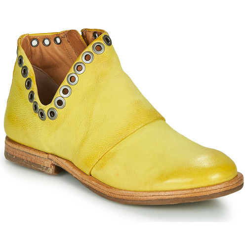 Shoes Women Mid boots Airstep / A.S.98 ZEPORT V Yellow