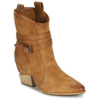 Shoes Women Mid boots Airstep / A.S.98 TINGET Camel