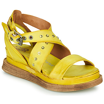 Shoes Women Sandals Airstep / A.S.98 LAGOS 2 Yellow