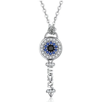 Watches Women Pendants Blue Pearls CRY C2065 J Silver