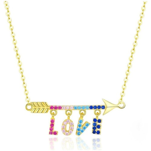 Watches Women Necklaces Blue Pearls CRY C2057 J Multicolored