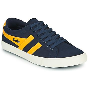 Shoes Men Low top trainers Gola VARSITY Marine / Yellow