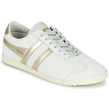 Shoes Women Low top trainers Gola BULLET PEARL White / Gold