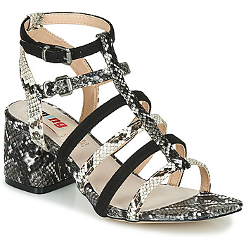 Shoes Women Sandals MTNG GAVIVE Python / Black