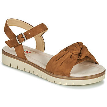 Shoes Women Sandals MTNG GARITO Cognac