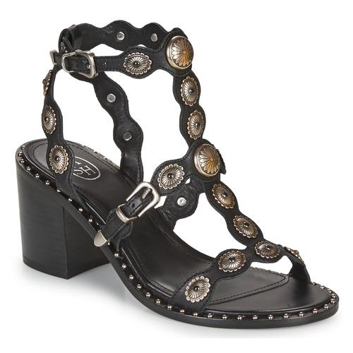 Shoes Women Sandals Ash NAVAJO  black