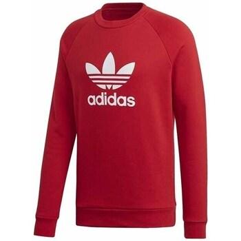 Clothing Men Sweaters adidas Originals Trefoil Crew Red