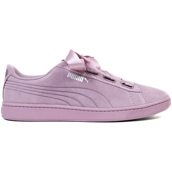 Shoes Women Low top trainers Puma Vikky V2 Ribbon S Violet