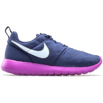 Shoes Children Low top trainers Nike Roshe One GS Navy blue