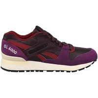 Shoes Women Low top trainers Reebok Sport GL 6000 WW Violet, Burgundy
