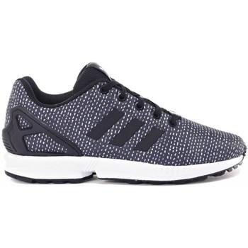Shoes Children Derby Shoes & Brogues adidas Originals ZX Flux J Black
