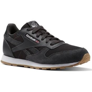 Shoes Children Low top trainers Reebok Sport CL Leather Estl Black