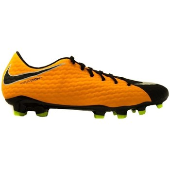 Shoes Men Football shoes Nike Hypervenom Phelon Iii FG Black,Orange,Yellow