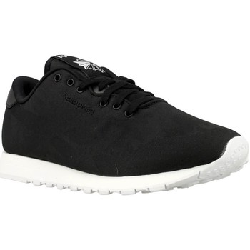 Shoes Women Low top trainers Reebok Sport CL Nylon Jacquard Black