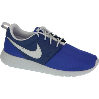 Shoes Boy Low top trainers Nike Roshe One GS Blue,Navy blue