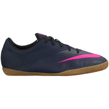 Shoes Children Football shoes Nike Mercurial X Pro Navy blue,Pink