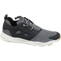 Shoes Men Low top trainers Reebok Sport Furylite Refine Black,Grey