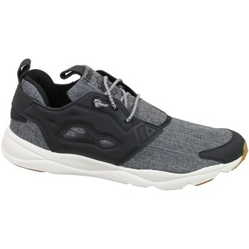 Shoes Men Low top trainers Reebok Sport Furylite Refine Black,Grey