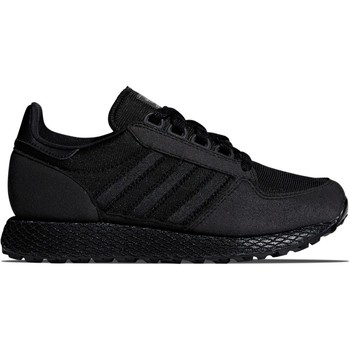 Shoes Children Low top trainers adidas Originals Forest Grove J Black