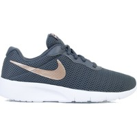 Shoes Children Low top trainers Nike Tanjun EP GS Graphite,White