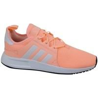 Shoes Children Low top trainers adidas Originals X Plr J Pink