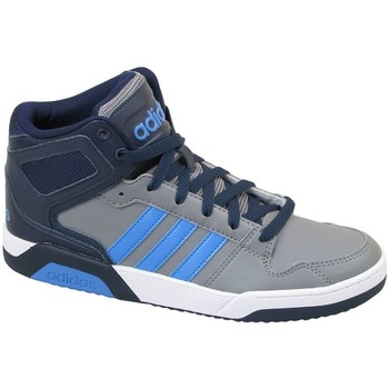 Shoes Children Hi top trainers adidas Originals BB9TIS K Grey,Blue