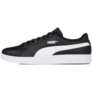 Shoes Men Low top trainers Puma Smash V2 L White,Black