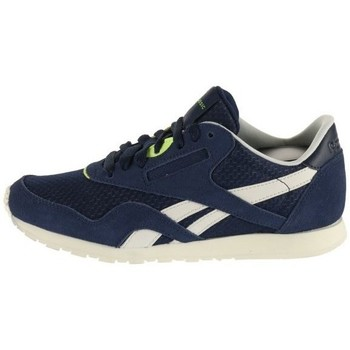 Shoes Women Low top trainers Reebok Sport CL Nylon Slim EP Navy blue