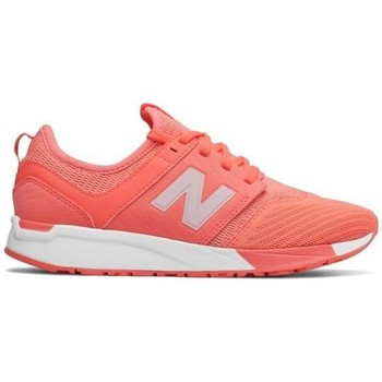 Shoes Children Low top trainers New Balance 247 Orange