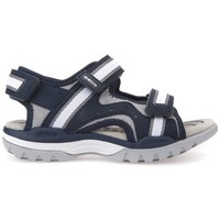 Shoes Boy Sandals Geox J Borealis Boy Navygrey Black