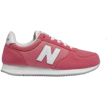 Shoes Children Low top trainers New Balance 220 White,Pink