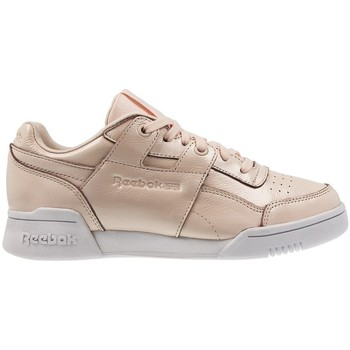 Shoes Women Low top trainers Reebok Sport W LO Plus Iridescent White,Beige,Cream