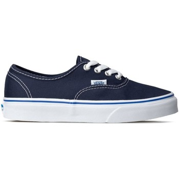 Shoes Women Low top trainers Vans Authentic White, Navy blue