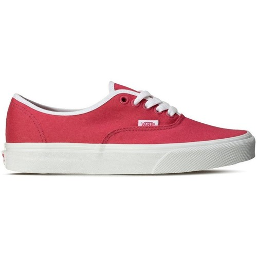 Shoes Low top trainers Vans Authentic Pop White, Pink