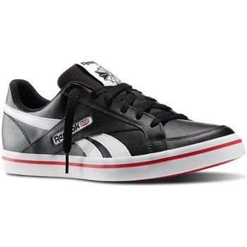Shoes Men Low top trainers Reebok Sport LC Court Vulc White,Black,Red