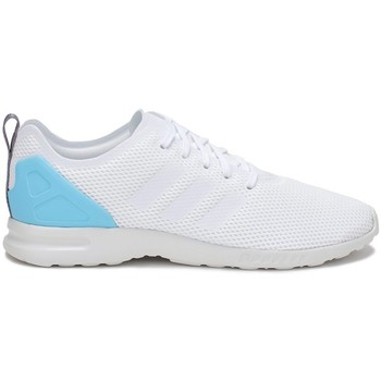 Shoes Women Low top trainers adidas Originals ZX Flux Adv Smooth W White