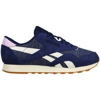 Shoes Women Low top trainers Reebok Sport CL Nylon WR Blue