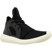 Shoes Women Low top trainers adidas Originals Tubular Defiant W Black