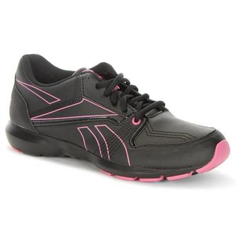 Shoes Women Low top trainers Reebok Sport Beat Low V Black, Pink