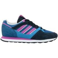 Shoes Women Low top trainers adidas Originals ZX 100 W Black,Blue,Violet