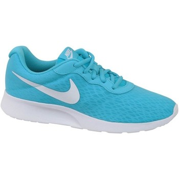 Shoes Women Low top trainers Nike Wmns Tanjun BR White,Blue