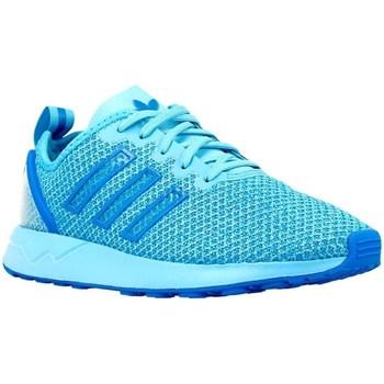 Shoes Children Low top trainers adidas Originals ZX Flux Adv K Blue