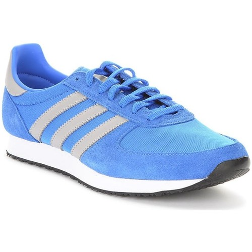 Shoes Men Low top trainers adidas Originals ZX Racer Blue