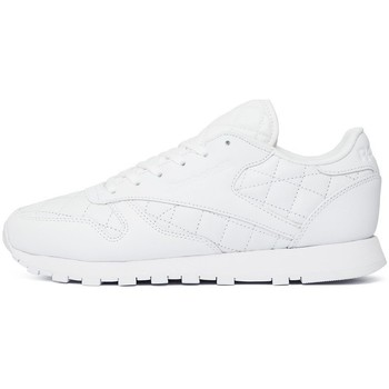 Shoes Women Low top trainers Reebok Sport Classic Leather Quilted Pack White