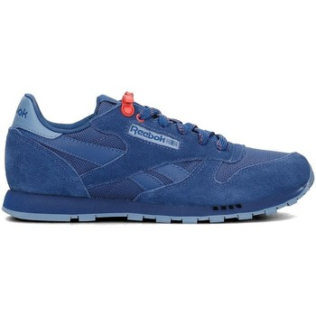 Shoes Children Low top trainers Reebok Sport Classic Leather Blue